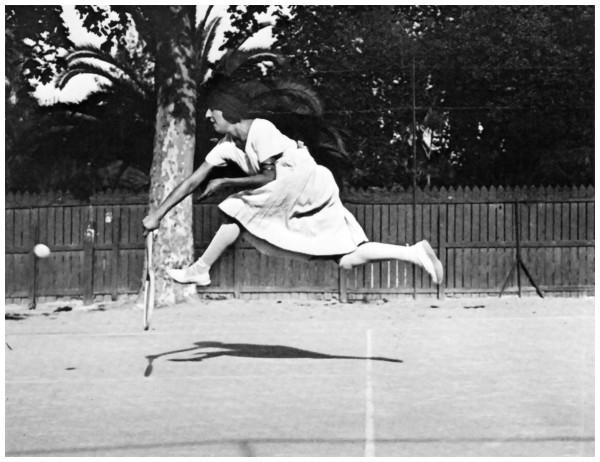 Jacques Henri Lartigue Suzane Lengien - Niza 1921