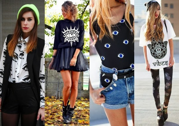 All seeing Eye print trend street style theglambitioncom 2