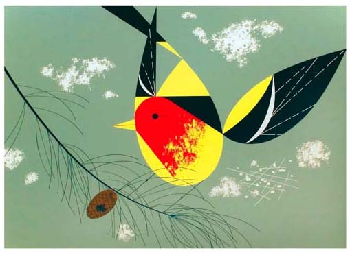 charley_harper_western_tanager